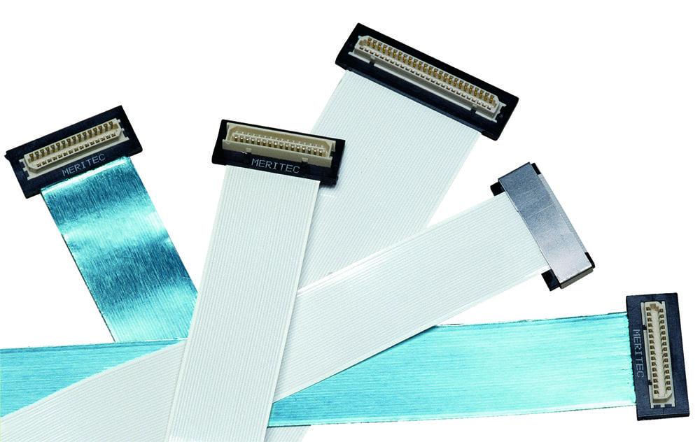Flat Flexible Cables Ffc : Flat flex cable assemblies ffc meritec
