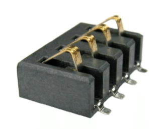 Meritec 3.5 mm Push Down Battery Connector